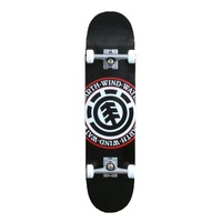 "ELEMENT SKATEBOARD COMPLETE SEAL LOGO 8.25"" SKATE AUST SELLER FREE POST"