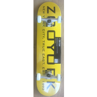 "ZOO YORK SKATEBOARD COMPLETE TRUE EAST 8.0"" SKATE NEW COMP"