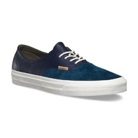 VANS SHOES AUTHENTIC DECON PIG SUEDE / LEATHER MIDNIGHT SKATE SKATEBOARD
