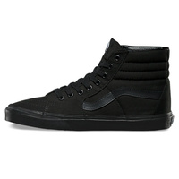 VANS SHOES SK8-HI BLACK / BLACK / BLACK SKATEBOARD SK8 HI SHOE SKATE HIGH BLACKOUT