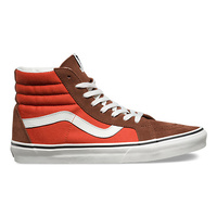 Vans Sk8 Hi Reissue 2 Tone Cappuccino Burnt New Skate Shoes Free Post Aust High Top Classics