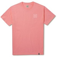 HUF DOMESTIC BOX TEE OVERDYE CORAL TS00119 T-SHIRTS SKATE NEW FREE POST AUST SELLER