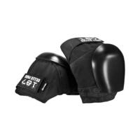 187 KILLER PADS PRO KNEE SKATEBOARD PADS BLACK FREE POST AUS SELLER