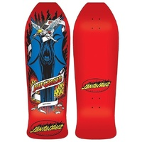 "SANTA CRUZ GROSSO DEMON RED REISSUE 10"" SKATEBOARD DECK FREE POSTAGE KINGPIN"