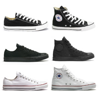 CONVERSE CHUCK TAYLOR ALL STAR HI LO LOW SHOES BLACK NEW AUSTRALIAN SELLER