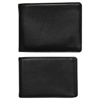 NIXON PASS BI-FOLD ID WALLET BLACK  Accessories Black FREE POST MEN NEW