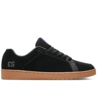 ES SAL BARBIER BLACK/ GUM SHOES ES AUST SELLER FREE POST SKATEBOARD KINGPIN