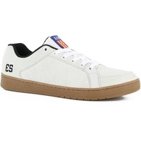 ES SAL BARBIER WHITE / GUM SHOES ES AUST SELLER FREE POST SKATEBOARD KINGPIN