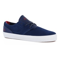 ES SHOES ACCENT NAVY / RED KINGPIN SHOE NEW FREE POSTAGE AUST SELLER