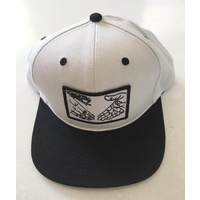DOOM SAYERS SNAPBACK CAP SNAKE SHAKE WHITE Hat Cap Aust Seller SKATE NEW CAPS