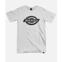DICKIES H.S SINGLE LOGO WHITE TEE NEW SKATE FREE POST AUST SELLER KINGPIN
