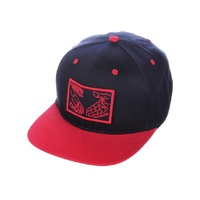 DOOM SAYERS SNAPBACK CAP SNAKE SHAKE NAVY / RED Hat Cap Aust Seller SKATE