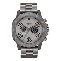 NIXON RANGER CHRONO STAR WARS MILLENNIUM FALCON GUNMETAL WATCH A549SW-2385-00