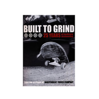 INDEPENDENT BUILT TO GRIND HARDCOVER BOOK 25 YEARS OF SKATEBOARDING FREE POSTAGE