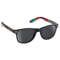 GLASSY LEONARD BLACK TIE DYE WAYFARER SUNGLASSES SHADES SUNNIES SKATE SURF