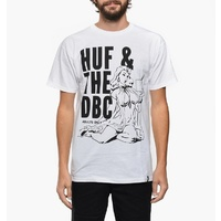 HUF ADULTS ONLY TEE TEE WHITE TS52035 T-SHIRTS SKATE NEW FREE POST AUST SELLER
