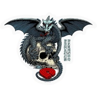 Powell Peralta Sticker Dragon Skull Single Sticker Bones Brigade NEW