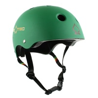 PROTEC HELMET Classic BIKE MATTE RASTA GREEN PRO-TEC MEETS AUST BIKE STANDARDS