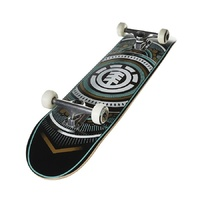 "ELEMENT SKATEBOARD COMPLETE HATCHED 8"" SKATE AUST SELLER FREE POST"