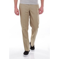DICKIES STRAIGHT SLIM FIT WORK PANTS KHAKI KINGPIN SKATE FREE POST AUS SELLER