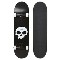 "ZERO SKATEBOARD COMPLETE SINGLE SKULL 8.0"" SKATE AUST SELLER FREE POST"