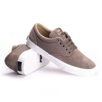 SUPRA SHOES CHINO SKATE NEW MOREL KHAKI / WHITE FREE POSTAGE AUSTRALIAN SELLER
