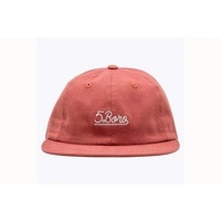 5 Boro Five Boro Hat New RED Cap Skate Free Post Aus Red Strap Back Kingpin