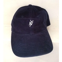 5 Boro Five Boro Navy Corouroy Monogram 6 Panel Hat New Cap Skate Free Post
