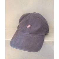 5 Boro Five Boro Graphite Cord Cap Monogram 6 Panel Hat New Skate Free Post Aus