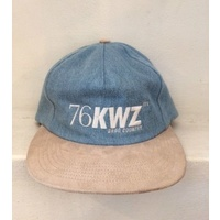 QUASI SNAP BACK BLUE CAP HAT NEW FREE POST AUS SELLER KINGPIN SKATE SHOP