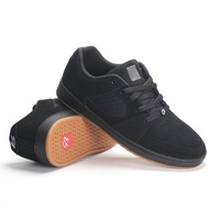 ES ACCEL SLIM BLACK GUM SKATEBOARD SHOES AUSTRALIAN SELLER FREE POSTAGE