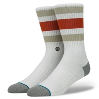 STANCE SOCKS BOYD 3 NATURAL LARGE US 9 - 12  AUST SELLER