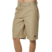 DICKIES SLIM STRAIGHT FIT WORK SHORTS KHAKI KINGPIN SKATE FREE POST AUS SELLER