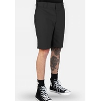 DICKIES SLIM STRAIGHT FIT WORK SHORTS BLACK KINGPIN SKATE FREE POST AUS SELLER