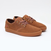EMERICA ROMERO LACED BROWN GUM SKATEBOARD SHOES KINGPIN AUSTRALIAN FREE POSTAGE