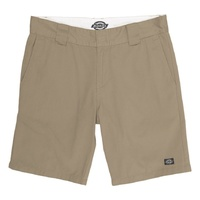 DICKIES REGULAR FIT WORK SHORTS KHAKI KINGPIN SKATE FREE POST AUS SELLER