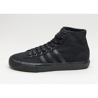 ADIDAS MATCHCOURT HIGH RX BLACK BLACK SKATEBOARD SHOES AUST SELLER FREE POST
