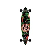 "Z-FLEX NEON FLAMINGO PINTAIL LONGBOARD 38"" AUST SELLER NEW KINGPINSTORE"
