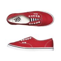 VANS SHOES AUTHENTIC LO PRO GORE RED/WHITE SKATE SKATEBOARD KINGPINSUPPLY