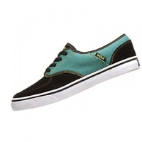 VOX SHOES CLASSX BLACK / EVERGREEN SKATE SKATEBOARD FREE POST NEW