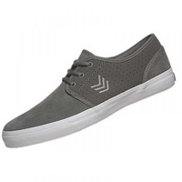 VOX SHOES SLACKER GRAY / GRAY / WHITE SKATE SKATEBOARD NEW VOX FOOTWEAR