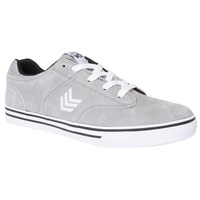 VOX SHOES LOCKDOWN VULC LIGHT GREY / WHITE SKATE SKATEBOARD NEW VOX FOOTWEAR