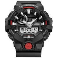 CASIO G-SHOCK WATCH DUO AUST WARRANTY GA700-1A WATCHES BLACK RED