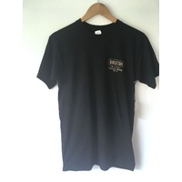 BRIXTON RUSSEL TEE BLACK NEW FREE POSTAGE AUSTRALIAN SELLER T-SHIRT