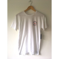 BRIXTON OATH TEE WHITE NEW FREE POSTAGE AUST SELLER T-SHIRT