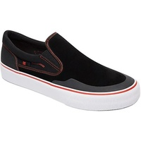 DC SHOES TRASE SLIP-ON S RT BLACK RED WHITE SKATEBOARD NEW FREE POST AUST
