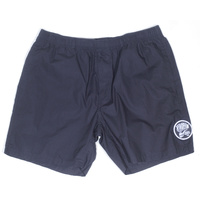 KINGPIN BEACHSHORTS BLACK AUST SELLER NEW KINGPIN SKATE SUPPLY COTTON