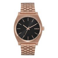 NIXON TIME TELLER WATCH ALL ROSE GOLD NEW FREE POST AUSTRALIAN SKATE SURF