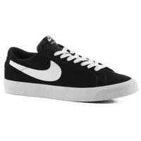 NIKE SB BLAZER ZOOM LOW BLACK WHITE LIGHT BROWN FREE POSTAGE AUSTRALIAN SELLER