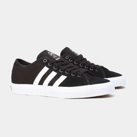 ADIDAS MATCHCOURT RX BLACK / WHITE SKATEBOARD SHOES SUEDE CANVAS NEW BY3201 AUS